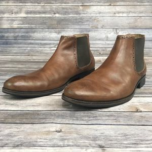 Johnston Murphy Calfskin Boot Men's 10.5 Pull On.